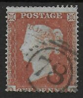 SG17. 1d.Red-Brown (Die I) Wmk.SCp16. A Very Fine Used Example. Cat.£32.Ref.0834