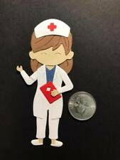 1 Nurse #2 Premade PAPER Die Cuts / Scrapbook & Card Making