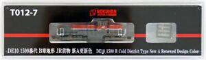 Rokuhan T012-7 Z Scale Diesel Locomotive Type DE10-1500 B Cold District New