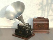 Edison-Gem-Phonograph, Modell B, um 1905, voll funktionsfähig, sehr gut erhalten