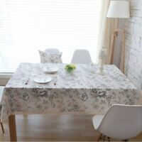 Dinning Tablecloth Mantel resistente al calor rectangular para mesa de comedor