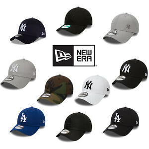 New Era 9FORTY Casual Embroidered Baseball Team Logo Adjustable Buckle Hat Cap