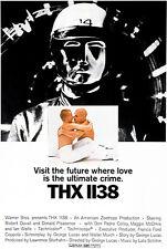 THX 1138 - 1971 - Movie Poster