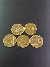 2005 Complete Set Of 24kt. Gold Plated State Quarters
