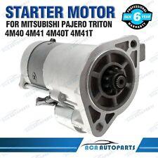 Starter Motor fit Mitsubishi Triton MK ML 4M40 4M41 2.8L 3.2L Turbo Diesel 93-14