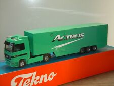 Mercedes 1857 Actros Truck & Trailer - Tekno 1:50 in Box *41173