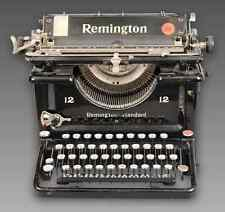 VINTAGE 1925 REMINGTON STANDART TYPEWRITER. 12-12