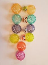 Littlest Pet Shop 4 X Animals tiny pets In  Balls Lp10