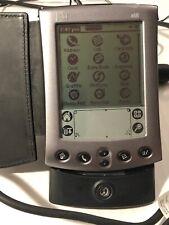 Palm M500 Handheld Pda Organizer Computer W/Stylus /Dock/Ac Adapter/Free Ship