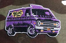 Beastie Boys Van Embroidered Patch B055P Bad Brains Slayer Nwa Public Enemy