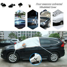 Universal Car Windshield Cover Sun Shade Protector Wind Dust Snow Frost Guard