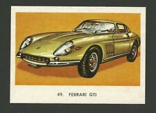 Ferrari GTI Vintage Car Collector 1972 Trading Card from Spain