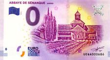 84 GORDES Abbaye de Sénanque, N° de la 8ème liasse,  2018, Billet 0 € Souvenir