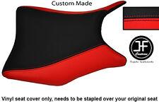 Personalizado de vinilo negro y rojo se adapta a Honda CBR 250 frontal Rider Cubierta de asiento 2011-2012