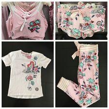DISNEY ARIEL THE LITTLE MERMAID Pyjama Bottoms Shorts Crop TShirt Ladies  Primark 5d6035489