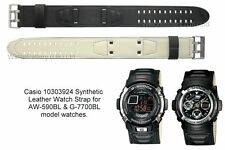 Genuine Casio Watch Strap.Replacement for AW-590BL, G-7700BL (Part no:10303924)