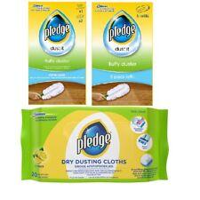 Pledge saver pack -  Fluffy Duster Starter Kit + Refill Pack +Dry Dusting Cloth