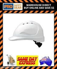 Pro Choice WHITE V9 Hard Hat with Ratchet Harness Head Safety Protection (HHV9R)