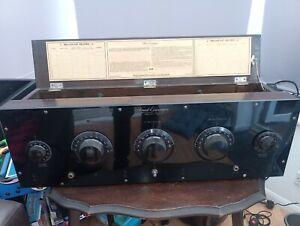 1925 FREED EISMANN NR-6 Rare USA valve Tube radio WORKING order only 1300 made