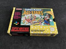 Super Nintendo Super Mario All Stars FAH Excellent état