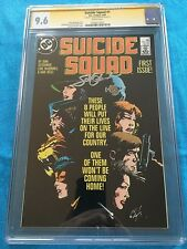 Suicide Squad #1 (1987) - DC - CGC SS 9.6 NM+ - Signed by John Ostrander