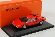 Lamborghini Countach rot 1970 1:43 Maxichamps Minichamps