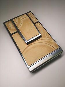 "Polaroid SX-70 Townsend Embossed ""Fossil"" Nubuck Leather PolaSkinz Skin SLR680."