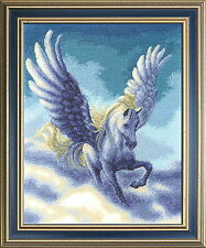 Pegasus  - Cross Stitch Kit with Color Symbolic Scheme SKU:688