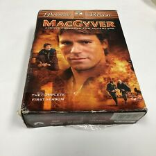 MacGyver - The Complete First Season (Dvd, 2005, 6-Disc Set) Brand New sealed!