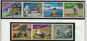 PARAGUAY Sc 1524 NH issue of 1973 - SPACE