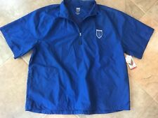 Nick FALDO windbreaker blue men's NEW WITH TAGS wind jacket golf
