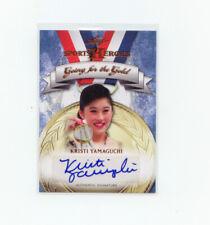 Leaf Sports Heroes 2013 #GG-KY1 Kristi Yamaguchi Autograph  U.S Olympic Team