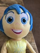 "Disney Store Original Authentic Plush 14"" Joy Doll From Inside Out"