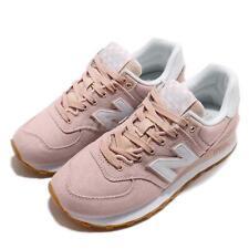 New Balance WL574SKC B розовый белый резинки женские беговая обувь, кроссовки Wl 574 skcb