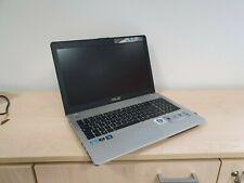 "Notebook Asus N56VZ 15.6"" SSD 256GB HD 750GB Processore Intel I7 Scheda Grafica"