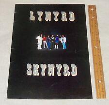 LYNYRD SKYNYRD 1977 Street Survivors Concert Tour Program Book