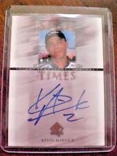 Kevin Harvick Sign of the Time ROOKIE Autograph Card SP Authentics