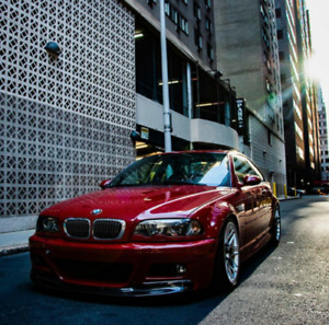 BMW 3 E46 M3 CSL LOOK FRONTLIPPE SPOILER SPLITTER
