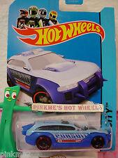 Case A 2013 Hot Wheels HW PURSUIT Police Car #20 US Team~lt Blue; 2014~ Rescue