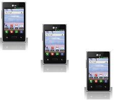 5 Premium Clear Screen Protector Guard LCD for LG Optimus Dynamic L38c L38g