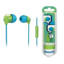 Philips SHE3575BG In-Ear Headset  Blue & Green for mobile phones SHE3575 GENUINE