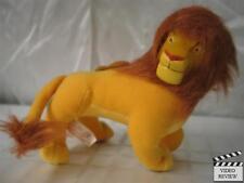 Simba (adult) vinyl mini plush doll - Lion King, Disney; Applause NEW