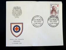 FRANCE PREMIER JOUR FDC YVERT 1226    ABBE DE L'EPEE   20+10F   VERSAILLES  1959