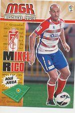 N°172 MIKEL RICO MORENO # ESPANA GRANADA.CF CARD PANINI MGK LIGA 2014