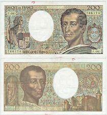 BILLET 200 F MONTESQUIEU 1990 F 081