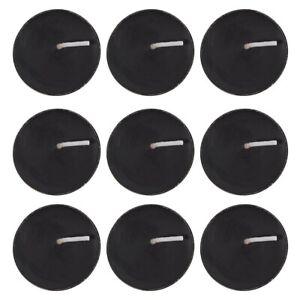 Pack of 9 Opium Scented Black Tealights