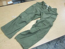Genuine Usgi Od Small Regular Cold Weather Wind Resistant M-65 Field Trousers