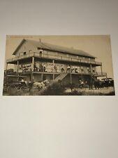 The ATLANTIC, Coronado Florida RARE/Antique Postcard RPPC Historical Image