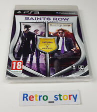 PS3 Saints Row : Double Pack NEUF / NEW PAL