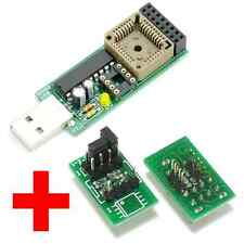 NANO USB Programmer + Solderless SOP8 150mil 200mil adapter, MX25L8005 24RF08